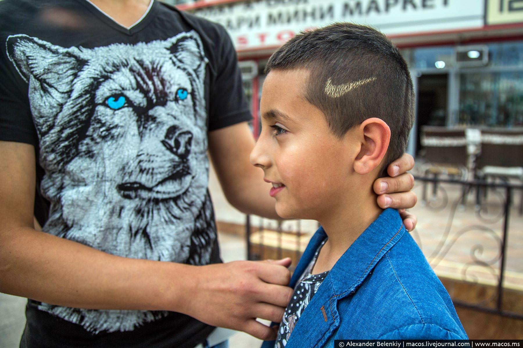 The gypsies in Bulgaria