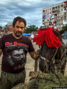 The gypsies in Bulgaria