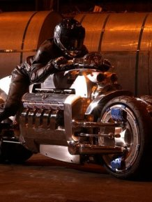 This Custom Built Tomahawk Motorcycle Is Worth Over Half A Million