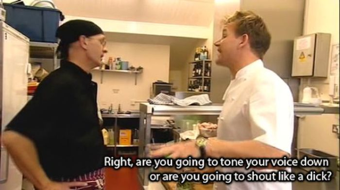 Gordan Ramsay Knows How To Cook Up Some Very Salty Insults