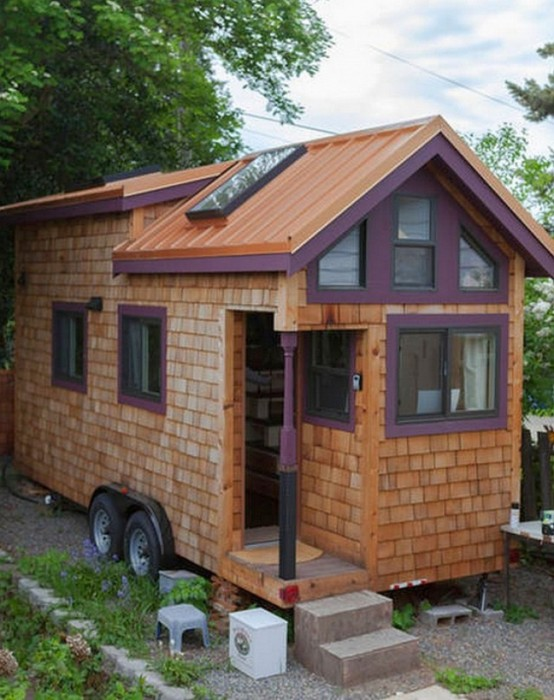 This Woman Built An Amazing Mobile Home All On Her Own