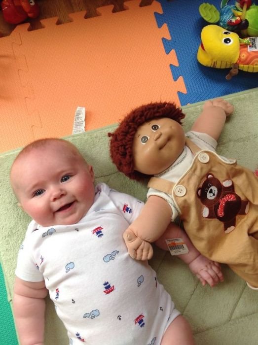 Children Who Look Shockingly Similar To Their Toy Dolls