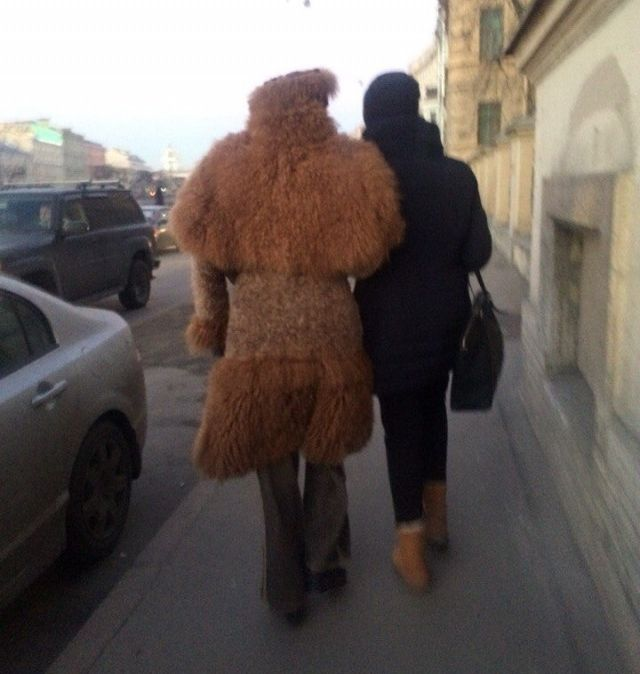 Fashion Choices You Will Only See On The Streets Of Russia