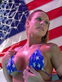 Patriotic women
