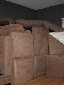 Man Moves Into Fort Kick-Ass After Girlfriend Calls Him Childish
