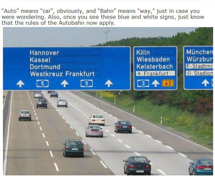 Everything You Need To Know About German Autobahn
