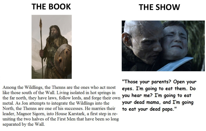 The Biggest Differences Between The Game Of Thrones Books And The Show