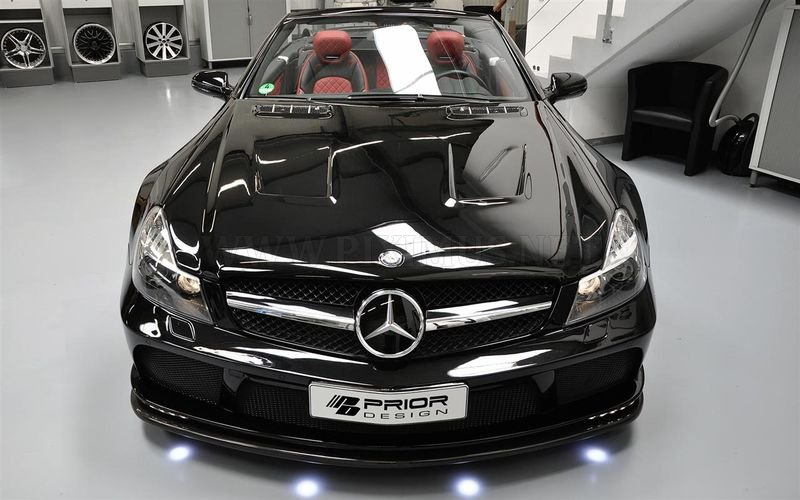 Mercedes-Benz SL R230 Black Edition by  Prior Design