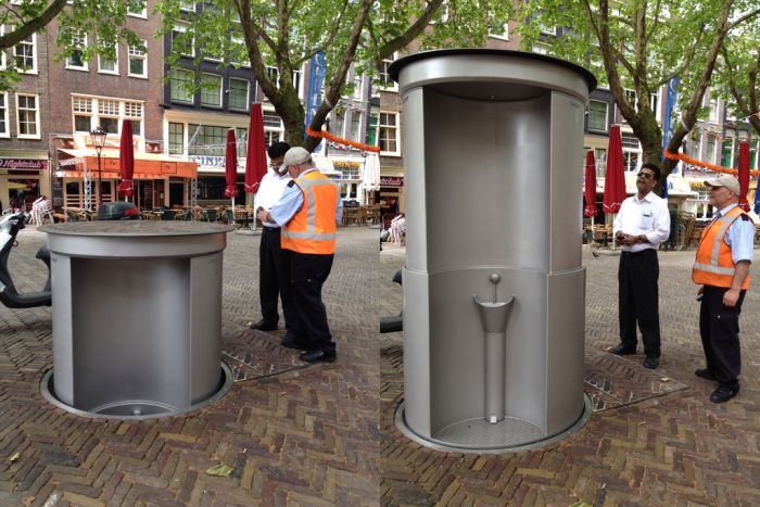 Every Country Needs One Of These Pop Up Public Toilets