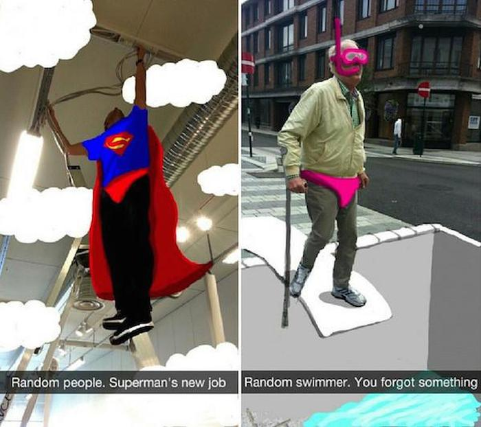 This Person Turned Random Snapchat Photos Into Real Masterpieces