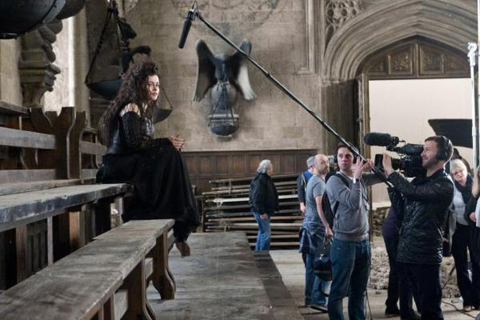 Photos That Take You Behind The Scenes Of Your Favorite Films