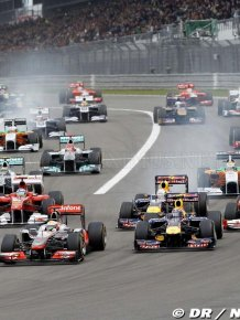 Formula 1 German Grand Prix 2011 - Race