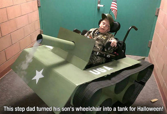 These Dads Are Totally Cool With Taking One For The Team