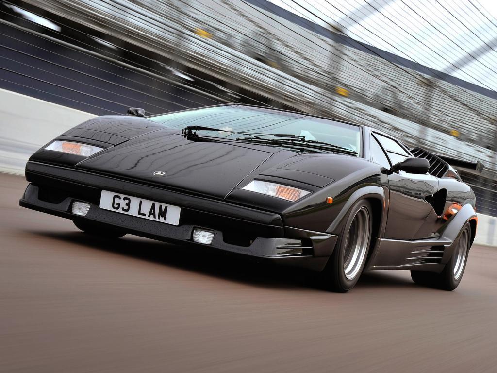 Luxury sports cars 80s