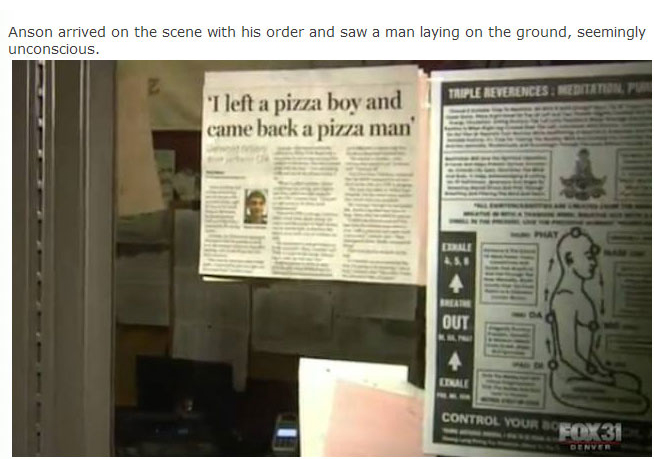 Local Pizza Boy Becomes A Local Hero After Saving Someone's Life