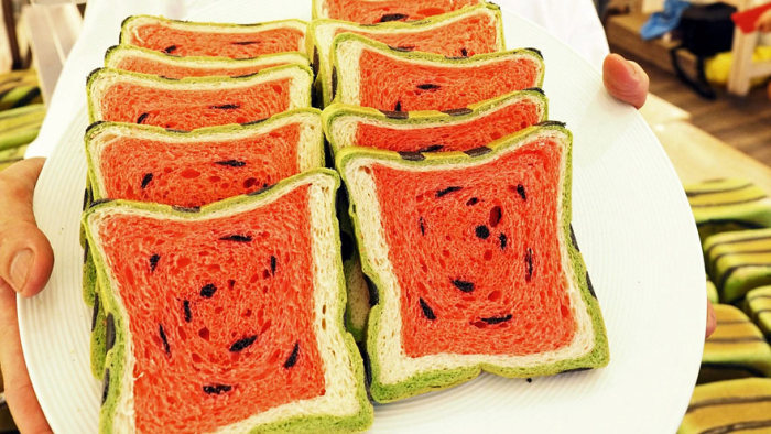 Taiwan Invents Bread That Looks Like Watermelon And Tastes Delicious