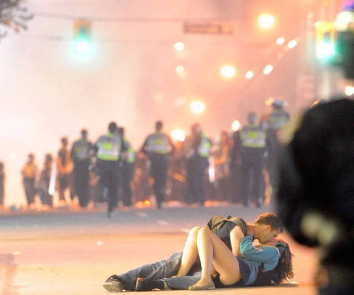 The Famous Kissing Couple From The Vancouver Riots Are Still An Item