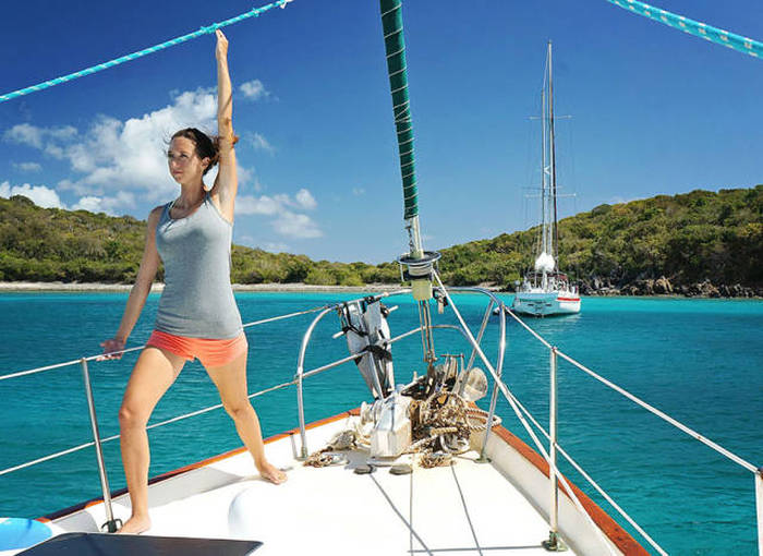 This Couple Quit Their Jobs To Sail The World Together