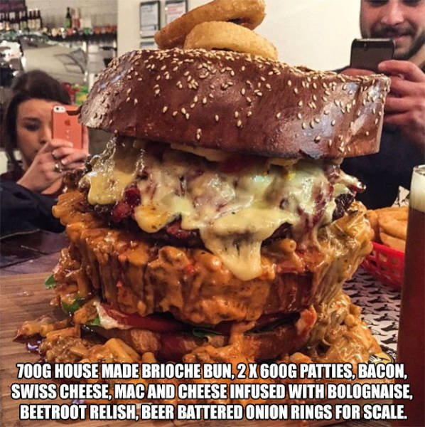 Massive Food Concoctions That Will Make Your Mouth Water