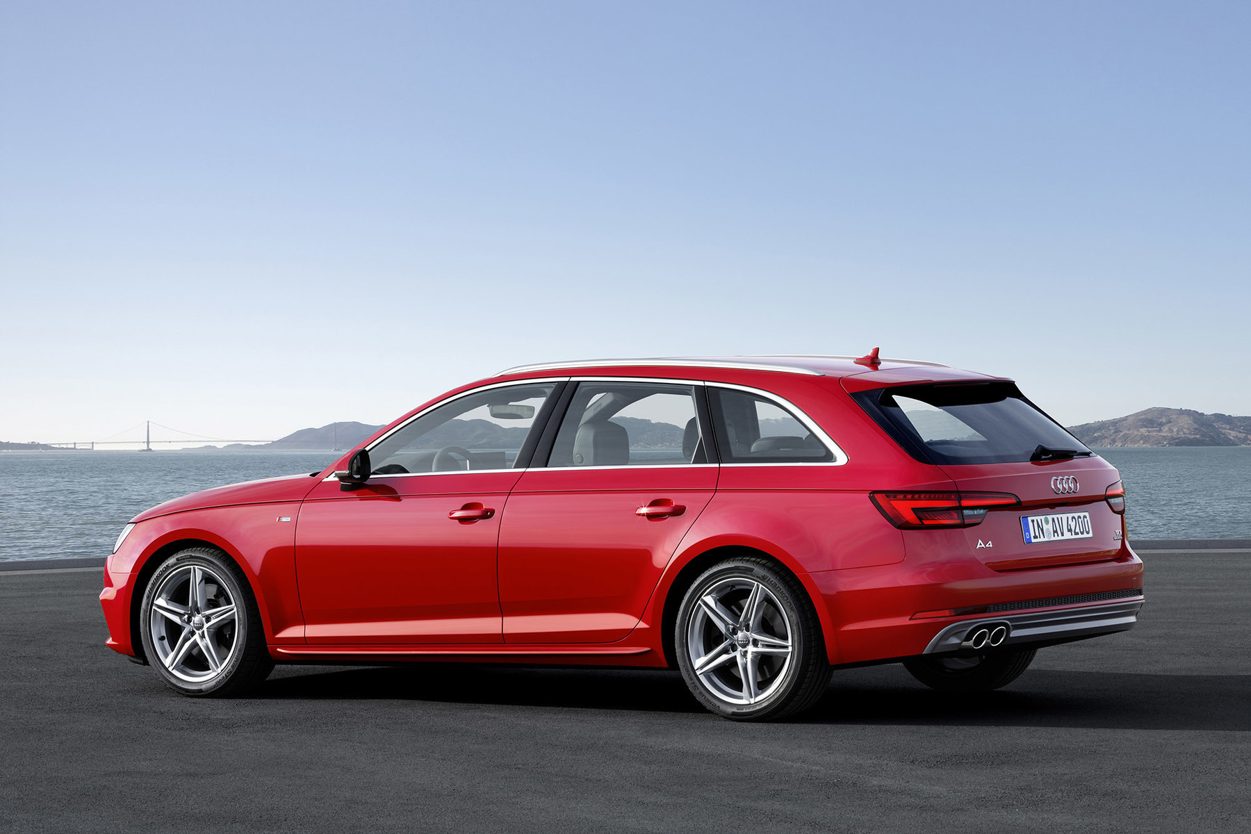 The new Audi A4