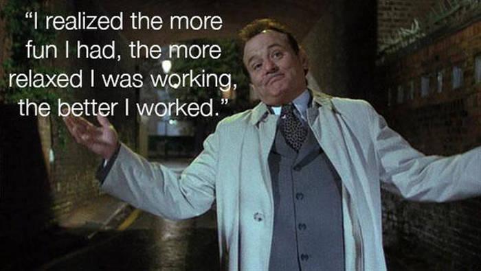 Bill Murray Is A Man Full Of Wisdom
