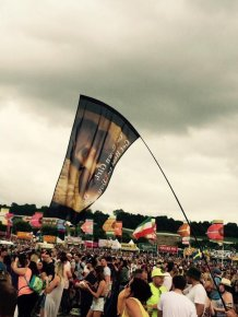 Kanye West Gets Trolled At Glastonbury