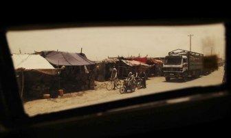 Afghanistan through a Humvee Window