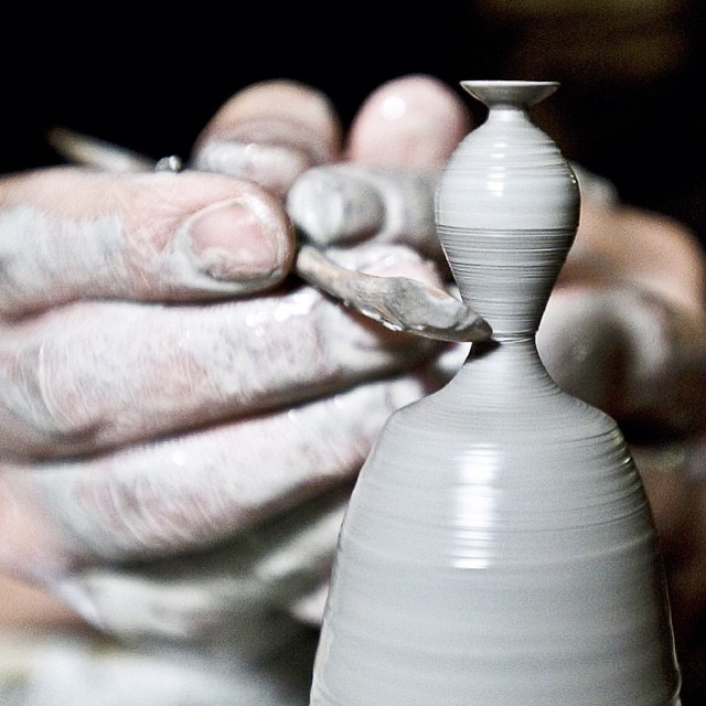 Artist Makes Some Of The World's Smallest Pottery By Hand