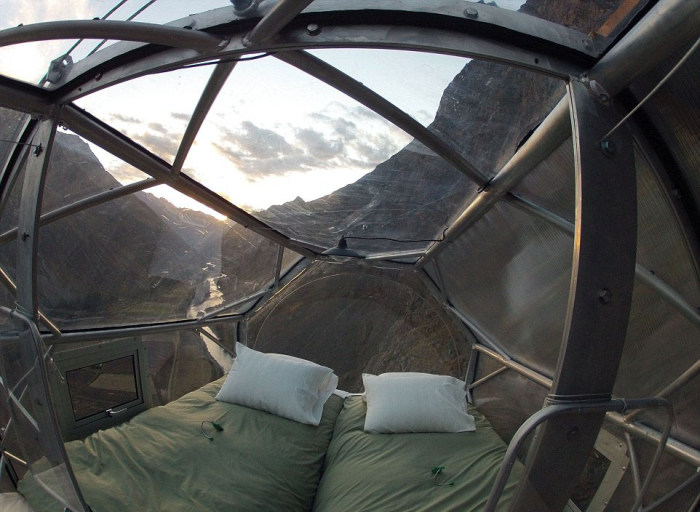 This Cliffside Hotel Is Both Amazing And Terrifying