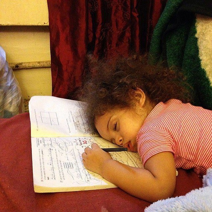 Pictures That Prove Kids Can Fall Asleep Anywhere