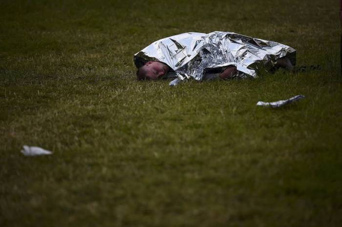 Photos That Capture The Exhausting Aftermath Of Glastonbury