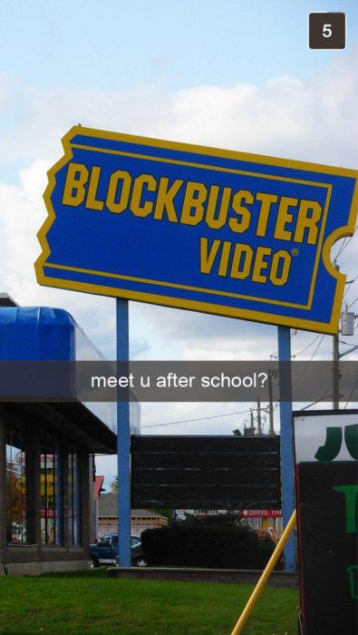 What Snapchat Photos Would Have Looked Like In The 90s