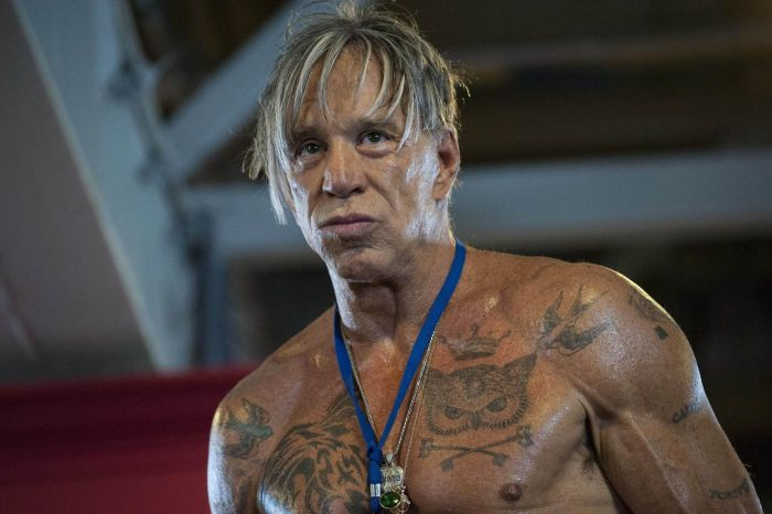 Mickey Rourke Is A Man Of Many Faces