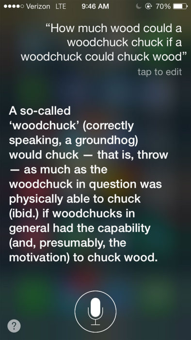 You Can Always Count On Siri To Give You An Honest Answer