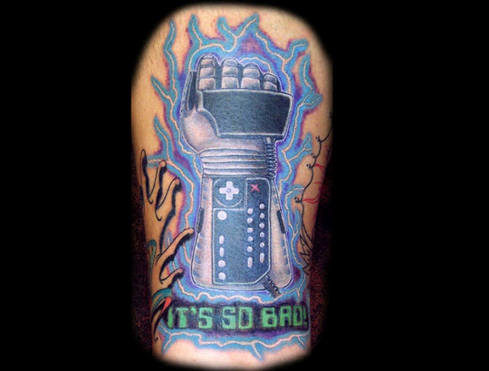Gamers That Took Their Love Of Games To The Next Level With Awesome Tattoos