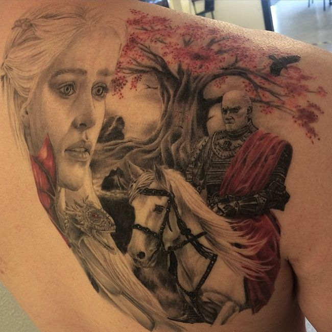 Game Of Thrones Tattoos That Are Absolutely Perfect Others