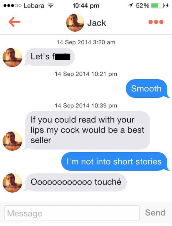 witty comebacks for flirting