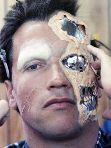 The Evolution Of The Terminator's Makeup From 1984 to 2015