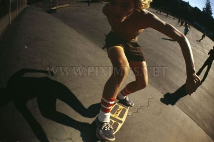 The Skaters of 70s