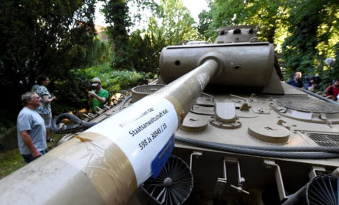 World War II Weapons Stash Discovered In A Cellar In Germany