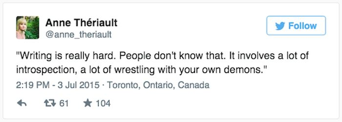 Anne Theriault Live Tweets A Couple's Horrible First Date