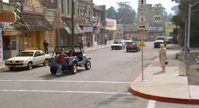 Real Life Locations From Back To The Future Then And Now