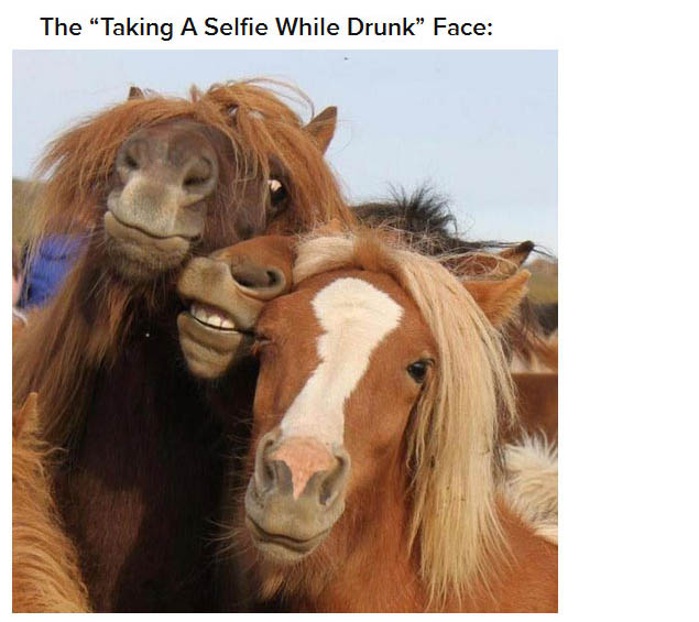 22 Faces Everyone Makes When They're Drunk