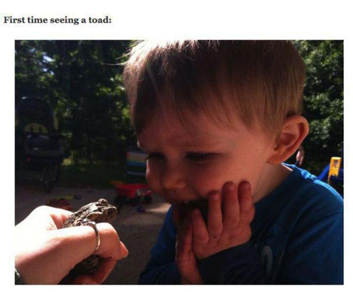 What It Looks Like When Kids Experience Things For The First Time