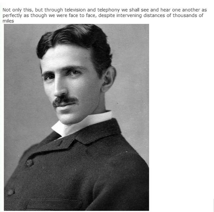 Nikola Tesla Predicted The Invention Of The Smartphone Back In 1926, part 1926