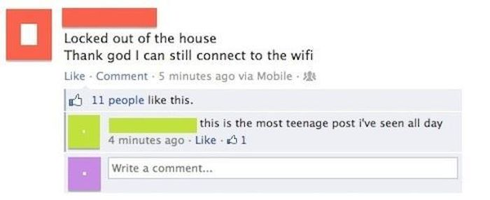 Facebook Posts That You Just Have To Laugh At