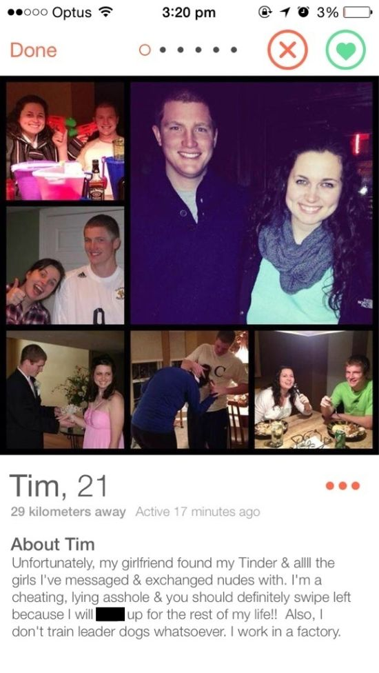 Cheaters Who Got Called Out On Tinder