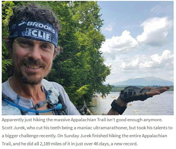 Marathon Runner Hikes The Appalachian Trail In Only 46 days
