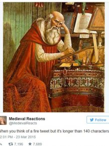 Medieval Reactions For Modern Day Situations