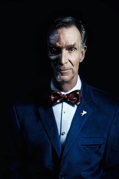 Bill Nye The Science Guy Gets The Photoshop Battle Treatment